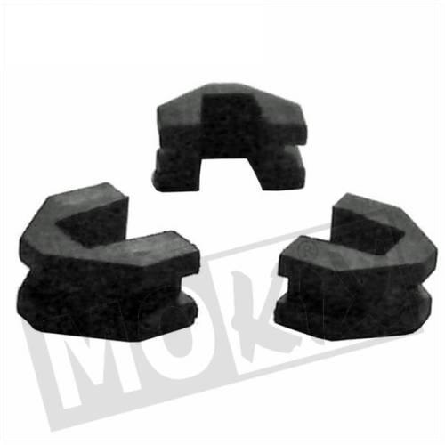 Variateur geleiders (driehoekjes) China / Retro GY6 (3 stuks)