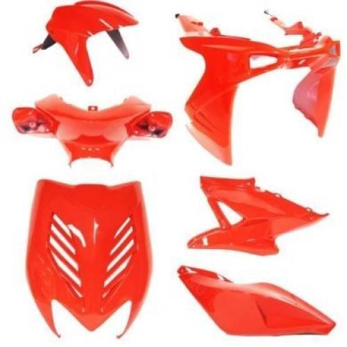 Aerox Kappenset - Rood (8 delig)