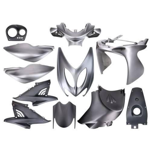Aerox Kappenset TunR - Mat-grijs(11 delig)