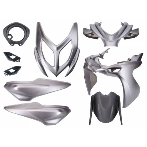 Kappenset Yamaha Aerox 2014 / Aerox R - Mat-grijs