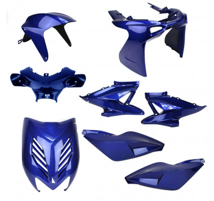 Aerox Kappenset - Blauw (8 delig)