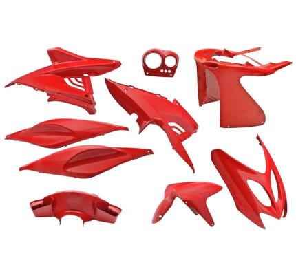 Aerox Kappenset - Ferrari rood