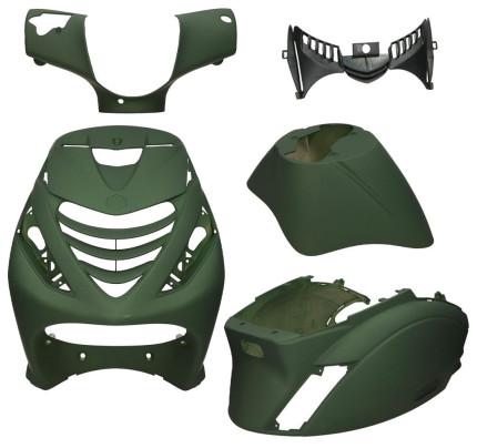 Kappenset Piaggio Zip Camouflage groen