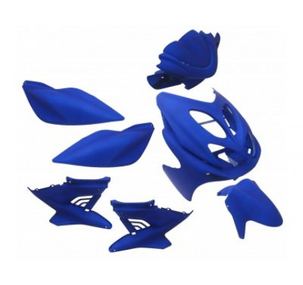 Aerox Kappenset - Mat blauw