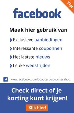 Scooter onderdelen Facebook actie Scooterdiscounter