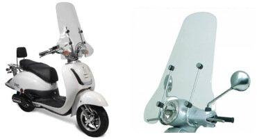 scooter windscherm online kopen bij scooterdiscounter
